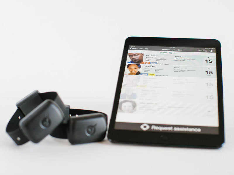 ObservSmart Tablet and Wristbands
