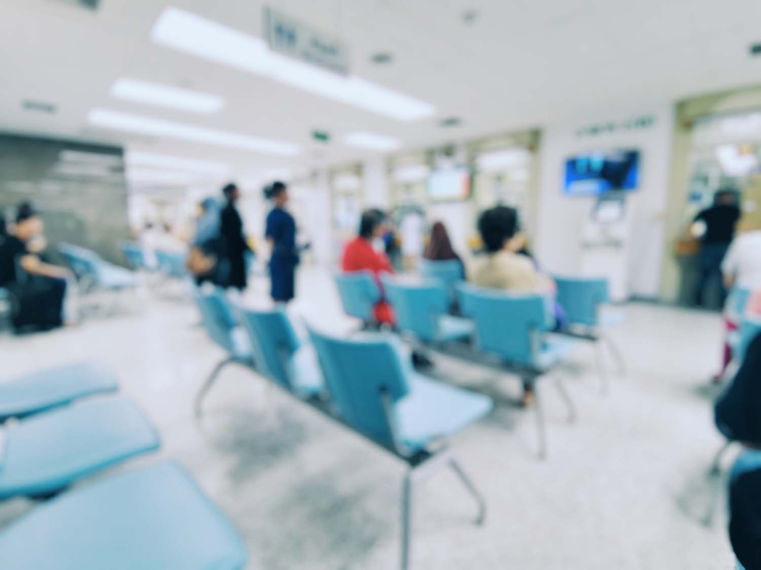 Interior view of Waiting Room in Emergency Room